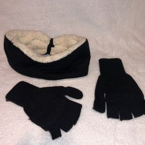 Headband and gloves